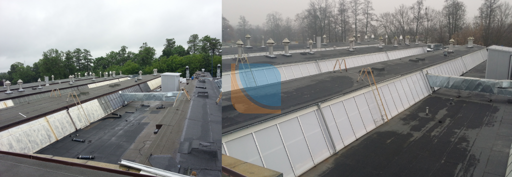 Nowy świetlik trapezowy na dachu