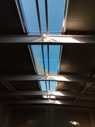 Otwór na świetlik dachowy
