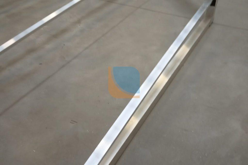 Zespawana konstrukcja aluminiowa